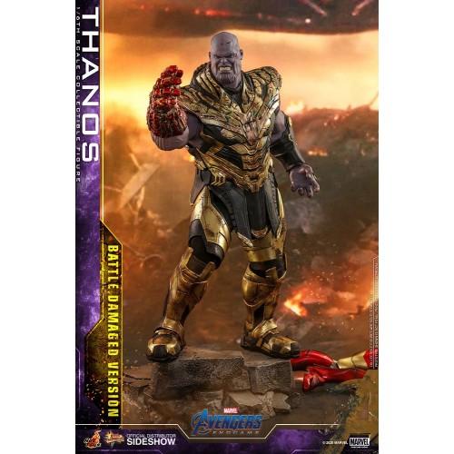 Avengers: Endgame Action Figure 1/6 Thanos Battle Damaged Version 42 cm Hot Toys - 3
