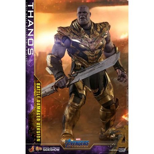 Avengers: Endgame Action Figure 1/6 Thanos Battle Damaged Version 42 cm Hot Toys - 5