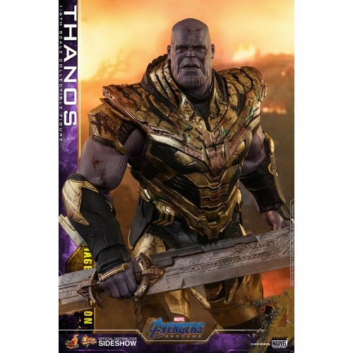 Avengers: Endgame Action Figure 1/6 Thanos Battle Damaged Version 42 cm Hot Toys - 6