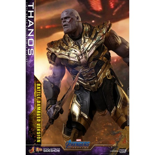Avengers: Endgame Action Figure 1/6 Thanos Battle Damaged Version 42 cm Hot Toys - 7