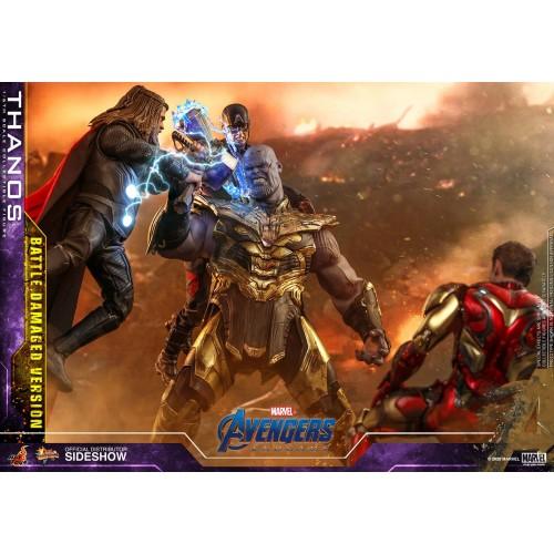 Avengers: Endgame Action Figure 1/6 Thanos Battle Damaged Version 42 cm Hot Toys - 8