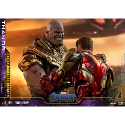 Avengers: Endgame Action Figure 1/6 Thanos Battle Damaged Version 42 cm Hot Toys - 9