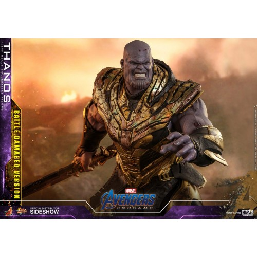 Avengers: Endgame Action Figure 1/6 Thanos Battle Damaged Version 42 cm Hot Toys - 10