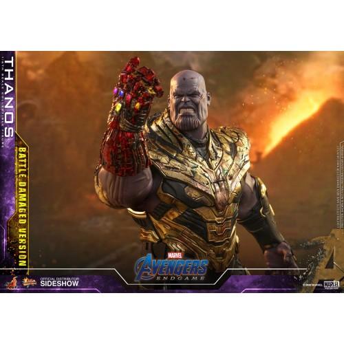 Avengers: Endgame Action Figure 1/6 Thanos Battle Damaged Version 42 cm Hot Toys - 11
