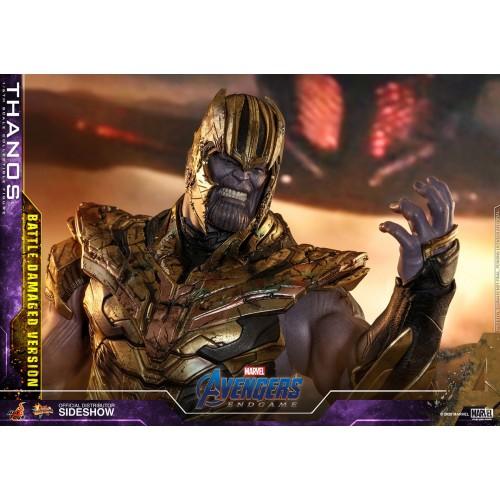 Avengers: Endgame Action Figure 1/6 Thanos Battle Damaged Version 42 cm Hot Toys - 12