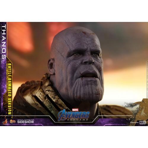 Avengers: Endgame Action Figure 1/6 Thanos Battle Damaged Version 42 cm Hot Toys - 14