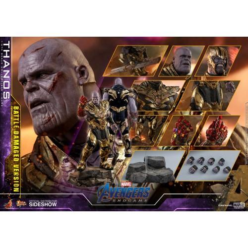 Avengers: Endgame Action Figure 1/6 Thanos Battle Damaged Version 42 cm Hot Toys - 16