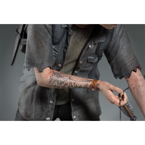 The Last of Us Part II PVC Statue Ellie with Bow 20 cm DARK HORSE COMICS - 10