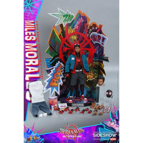 Spider-Man: Into the Spider-Verse Action Figure 1/6 Miles Morales 29 cm Hot Toys - 26