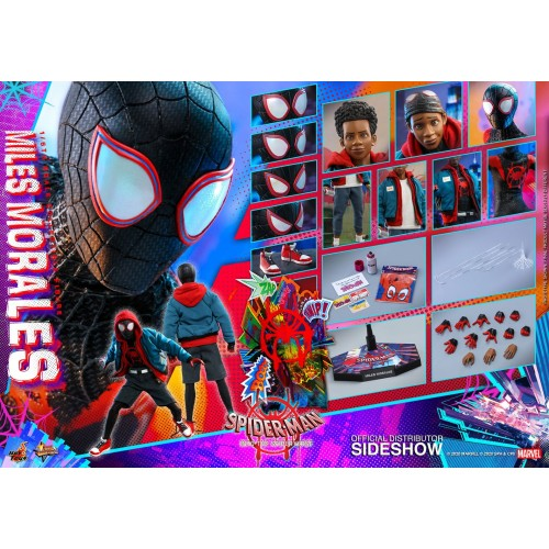 Spider-Man: Into the Spider-Verse Action Figure 1/6 Miles Morales 29 cm Hot Toys - 27