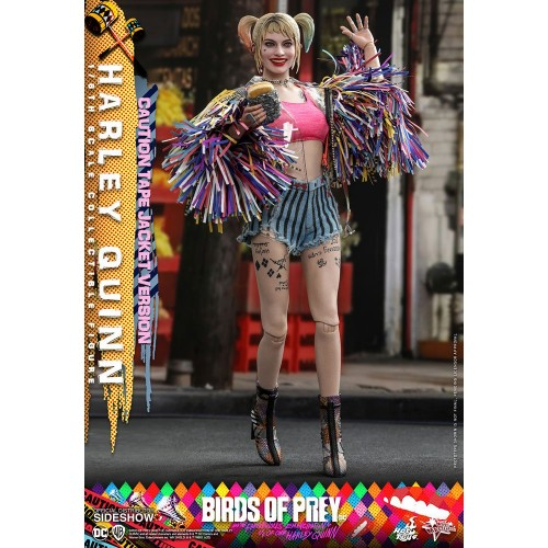 Birds of Prey Movie Action Figure 1/6 Harley Quinn (Caution Tape Jacket Version) 29 cm Hot Toys - 3