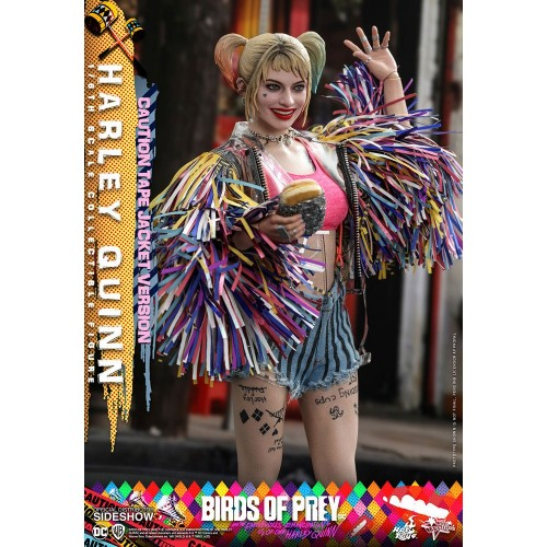 Birds of Prey Movie Action Figure 1/6 Harley Quinn (Caution Tape Jacket Version) 29 cm Hot Toys - 5