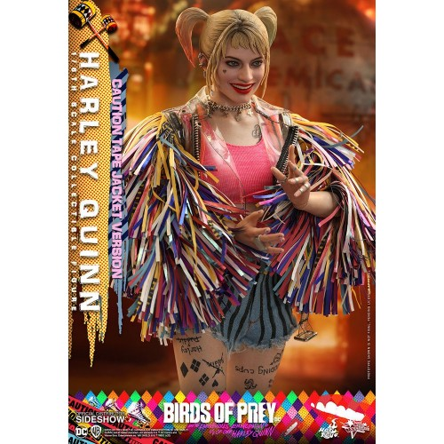 Birds of Prey Movie Action Figure 1/6 Harley Quinn (Caution Tape Jacket Version) 29 cm Hot Toys - 6
