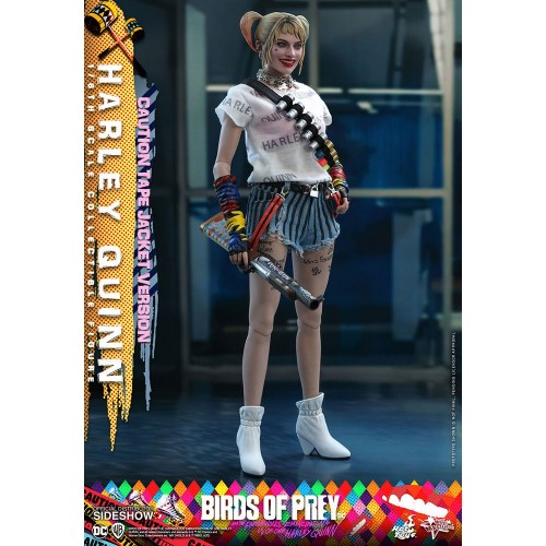 Birds of Prey Movie Action Figure 1/6 Harley Quinn (Caution Tape Jacket Version) 29 cm Hot Toys - 7