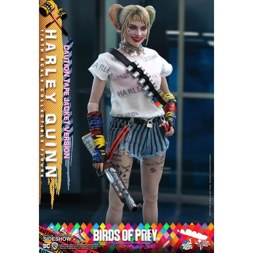 Birds of Prey Movie Action Figure 1/6 Harley Quinn (Caution Tape Jacket Version) 29 cm Hot Toys - 8