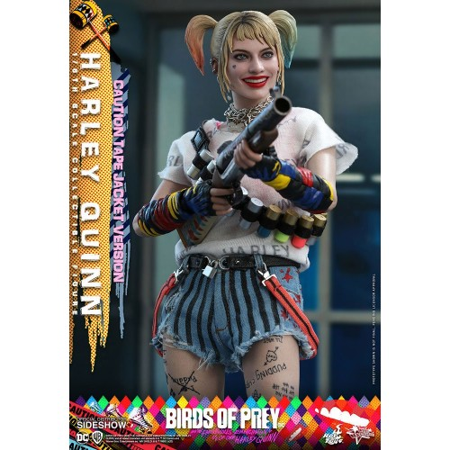 Birds of Prey Movie Action Figure 1/6 Harley Quinn (Caution Tape Jacket Version) 29 cm Hot Toys - 9
