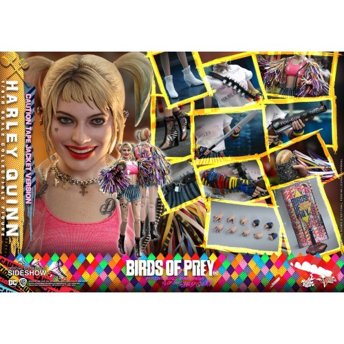 Birds of Prey Movie Action Figure 1/6 Harley Quinn (Caution Tape Jacket Version) 29 cm Hot Toys - 17