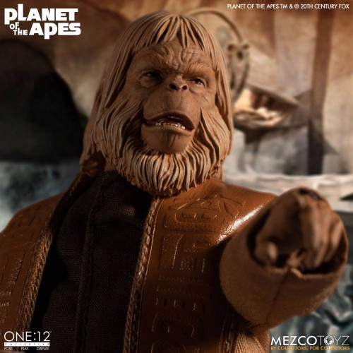 Planet of the Apes Action Figure 1/12 Dr. Zaius 16 cm Mezco - 3