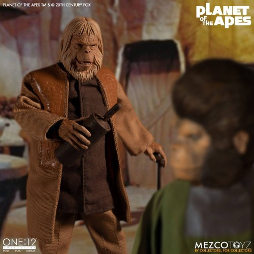 Planet of the Apes Action Figure 1/12 Dr. Zaius 16 cm Mezco - 4