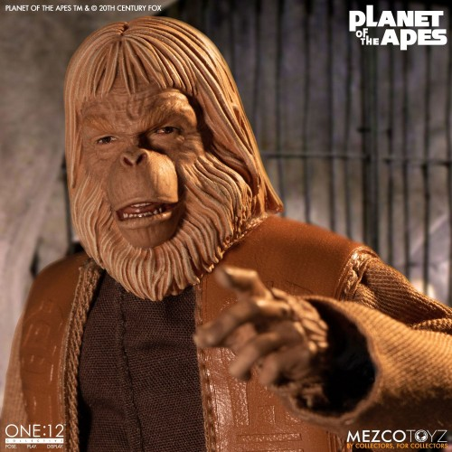 Planet of the Apes Action Figure 1/12 Dr. Zaius 16 cm Mezco - 5