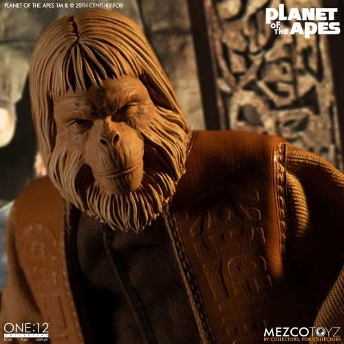 Planet of the Apes Action Figure 1/12 Dr. Zaius 16 cm Mezco - 6