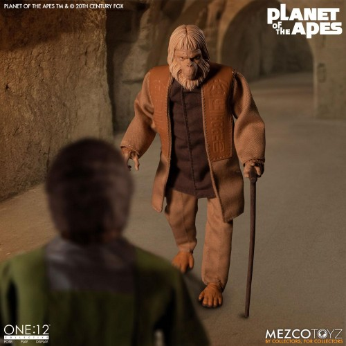Planet of the Apes Action Figure 1/12 Dr. Zaius 16 cm Mezco - 7
