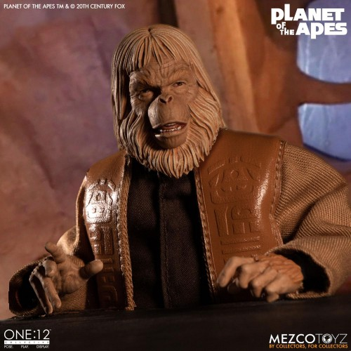 Planet of the Apes Action Figure 1/12 Dr. Zaius 16 cm Mezco - 8