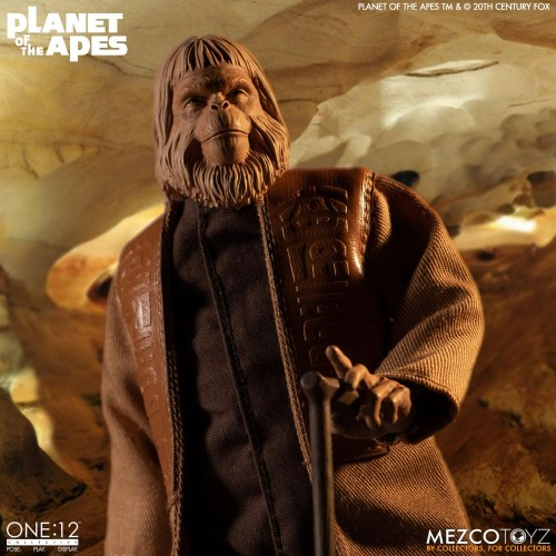 Planet of the Apes Action Figure 1/12 Dr. Zaius 16 cm Mezco - 9
