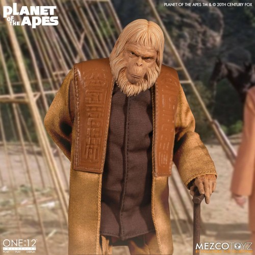 Planet of the Apes Action Figure 1/12 Dr. Zaius 16 cm Mezco - 10