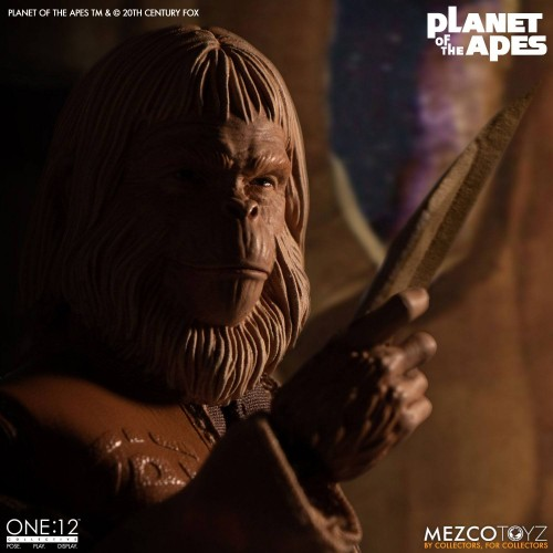 Planet of the Apes Action Figure 1/12 Dr. Zaius 16 cm Mezco - 11