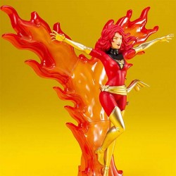 Marvel Universe ARTFX+ Statue 1/10 Phoenix Furious Power (Red Costume) 24 cm Kotobukiya - 1
