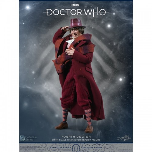 Doctor Who 1:6 scale Action Figure 4th Doctor Tom Baker Big Chief Studio - 3