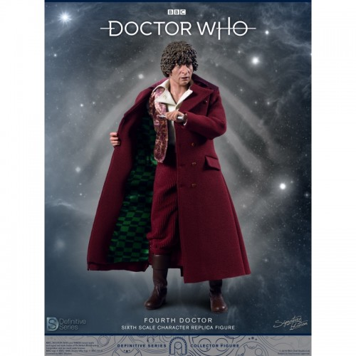 Doctor Who 1:6 scale Action Figure 4th Doctor Tom Baker Big Chief Studio - 2