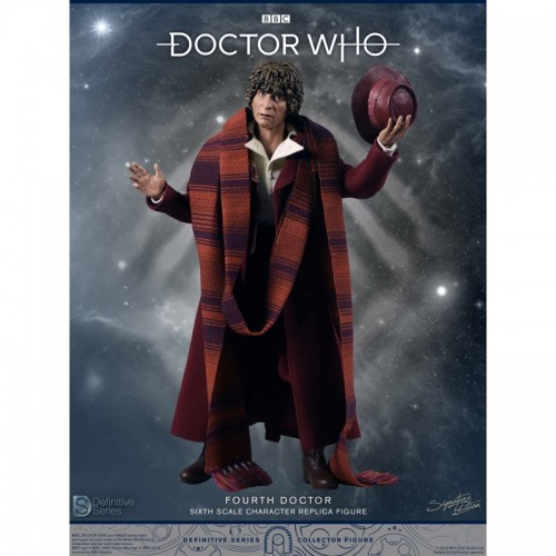 Doctor Who 1:6 scale Action Figure 4th Doctor Tom Baker Big Chief Studio - 4