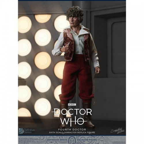 Doctor Who 1:6 scale Action Figure 4th Doctor Tom Baker Big Chief Studio - 5