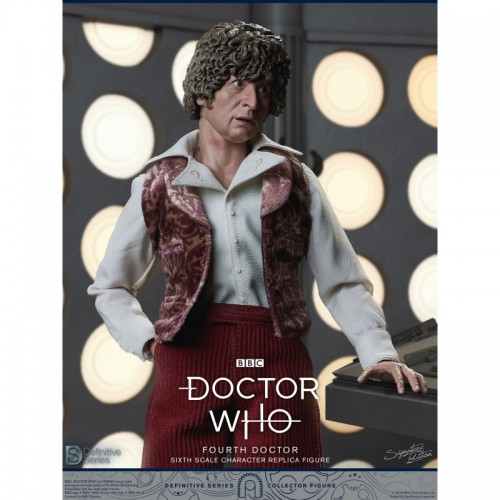Doctor Who 1:6 scale Action Figure 4th Doctor Tom Baker Big Chief Studio - 6