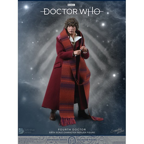Doctor Who 1:6 scale Action Figure 4th Doctor Tom Baker Big Chief Studio - 8