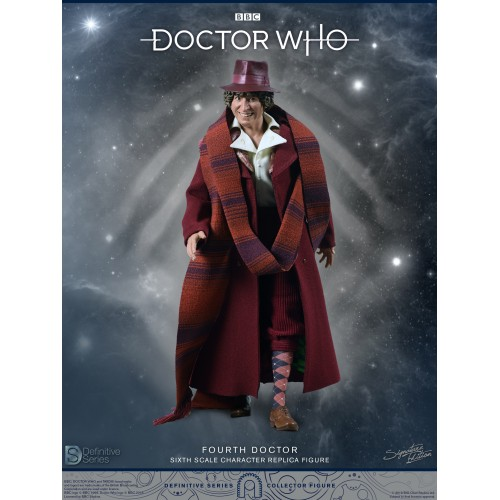 Doctor Who 1:6 scale Action Figure 4th Doctor Tom Baker Big Chief Studio - 9