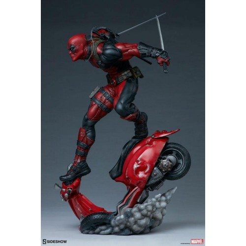 Marvel Premium Format Statue Deadpool 52 cm Sideshow Collectibles - 5