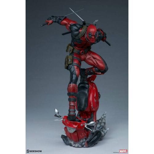 Marvel Premium Format Statue Deadpool 52 cm Sideshow Collectibles - 11