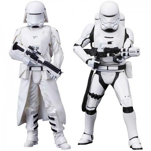 Star Wars Episode VII ARTFX+ Statue 2-Pack First Order Snowtrooper & Flametrooper 18 cm Kotobukiya - 1