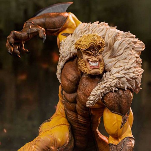 Marvel Comics BDS Art Scale Statue 1/10 Sabretooth 21 cm Iron Studios - 1
