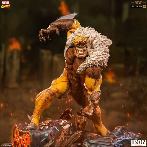Marvel Comics BDS Art Scale Statue 1/10 Sabretooth 21 cm Iron Studios - 4