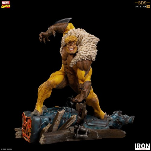 Marvel Comics BDS Art Scale Statue 1/10 Sabretooth 21 cm Iron Studios - 5