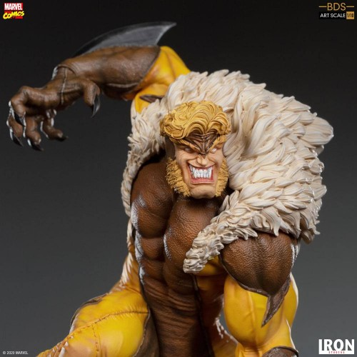 Marvel Comics BDS Art Scale Statue 1/10 Sabretooth 21 cm Iron Studios - 7
