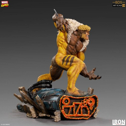Marvel Comics BDS Art Scale Statue 1/10 Sabretooth 21 cm Iron Studios - 10