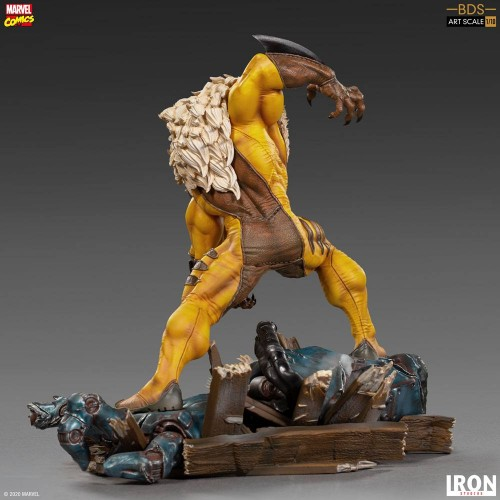 Marvel Comics BDS Art Scale Statue 1/10 Sabretooth 21 cm Iron Studios - 11