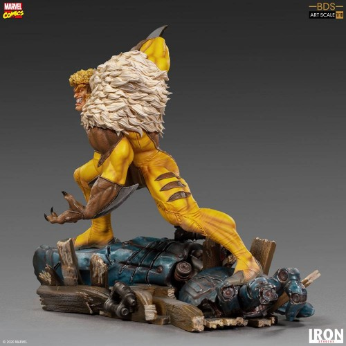 Marvel Comics BDS Art Scale Statue 1/10 Sabretooth 21 cm Iron Studios - 12