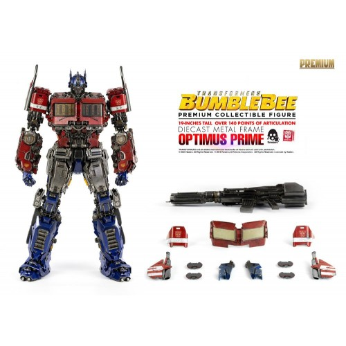 Transformers Bumblebee Premium Action Figure Optimus Prime 48 cm ThreeZero - 3