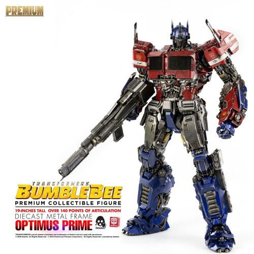 Transformers Bumblebee Premium Action Figure Optimus Prime 48 cm ThreeZero - 4
